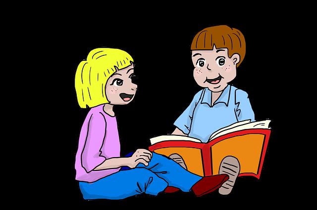 čtení dětí