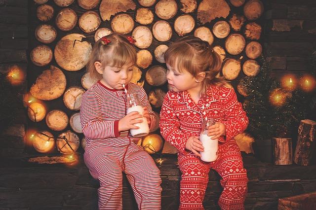 vánoční děti