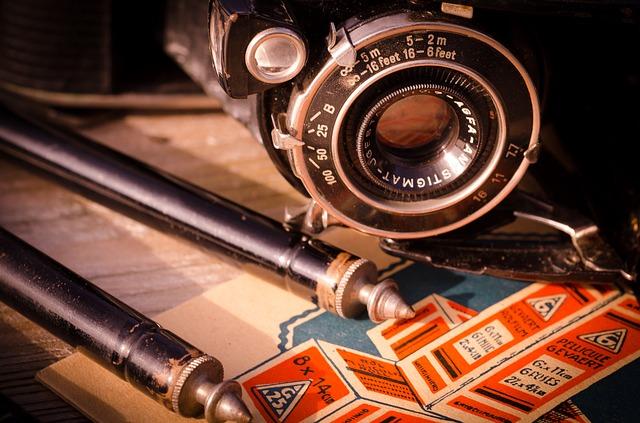 historická kamera